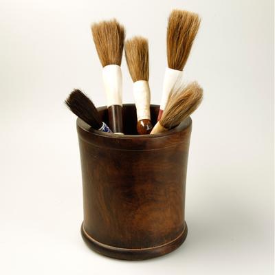 Wooden Brush Pot image 2