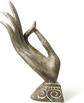 Stone Carved Buddha Hand