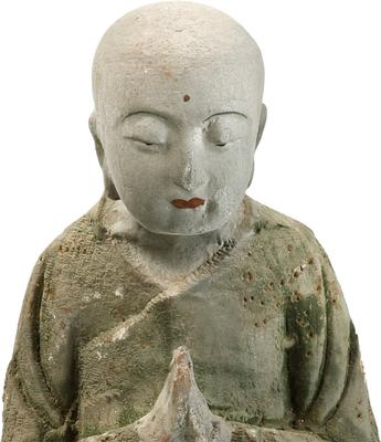 Wood Carved Buddha image 3