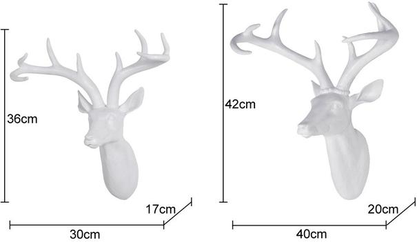Resin Stag Head image 3