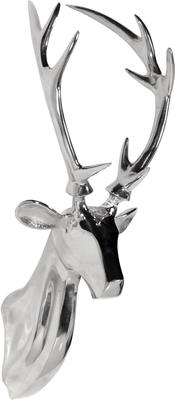 Chrome Stag Head
