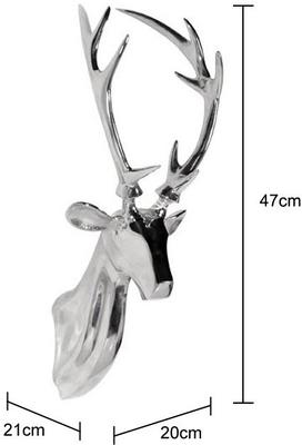 Chrome Stag Head image 2