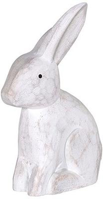 Sitting Rabbit Carved Ornament image 2