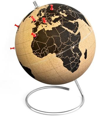 Suck UK Cork Globe image 3