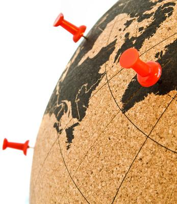 Suck UK Cork Globe image 4