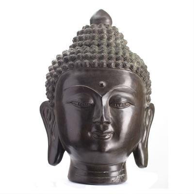 Bronze Buddha Head image 2