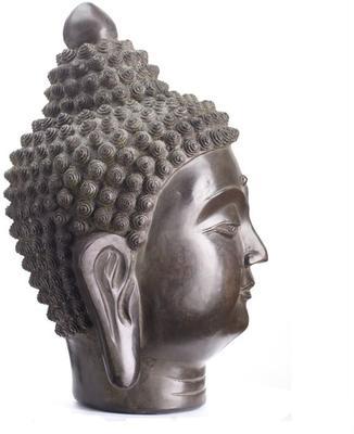 Bronze Buddha Head image 3