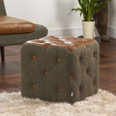Patchwork Cube Footstool - BL image 10