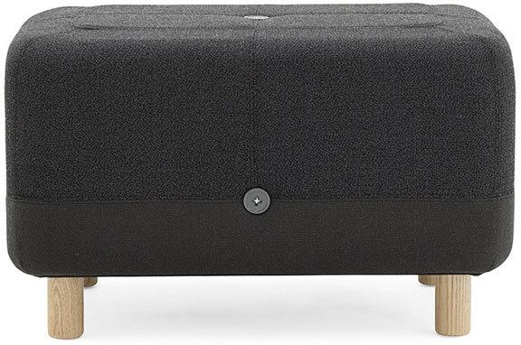 Normann Copenhagen Sumo Pouf - Dark Grey