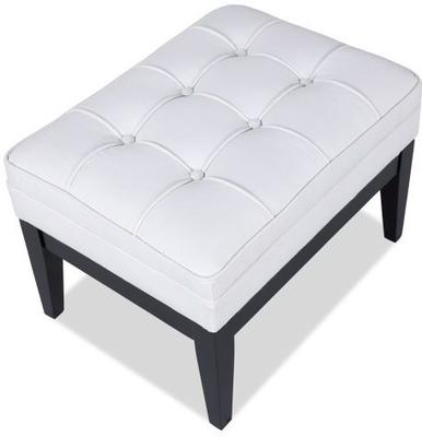 Miller Buttoned Fabric Ottoman image 6