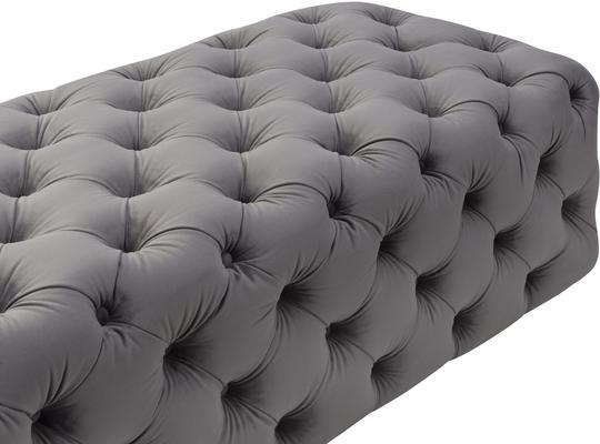 Elgard Rectangular Buttoned Bench image 6