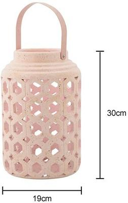 Bloomingville Ceramic Lantern - Blush image 2