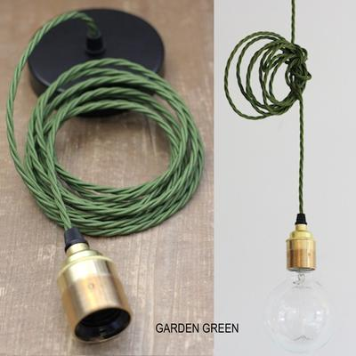 Nostalgia Lights Industrial style Edsion Pendant Set - S Ring - Brass image 5