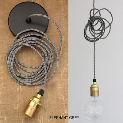 Nostalgia Lights Industrial style Edsion Pendant Set - S Ring - Brass image 6