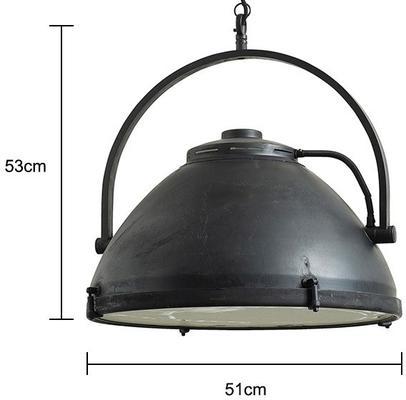 Large Hanging Factory Lamp Industrial Spotlight image 2