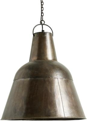 Large Copper Hanging Lamp Industrial-Style