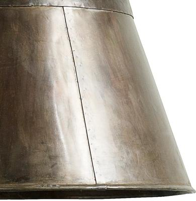 Large Copper Hanging Lamp Industrial-Style image 4