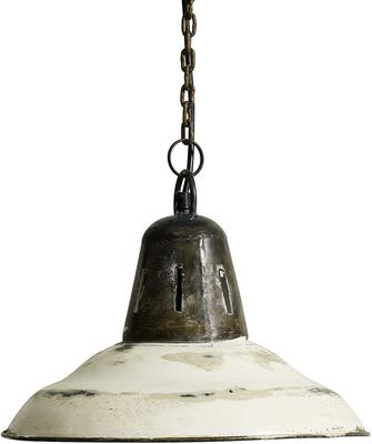 Industrial Hanging Lamp in White image 3