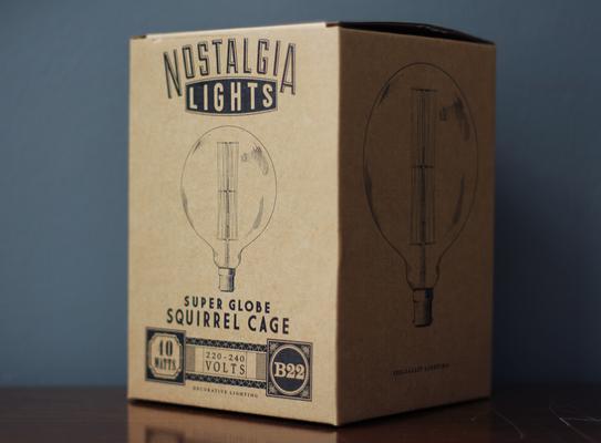 Nostalgia Lights Super Globe light bulb - 125mm. 40w. 300hrs image 3