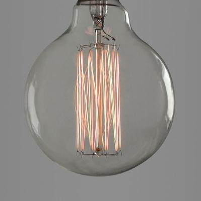 Nostalgia Lights Globe Squirrel Cage light bulb - 95mm. 40w. 300hrs image 2