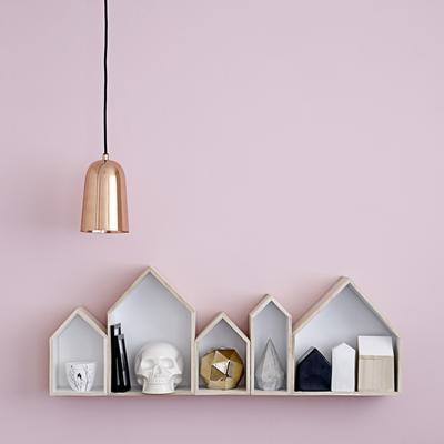 Bloomingville Shiny Copper Pendant Lamp