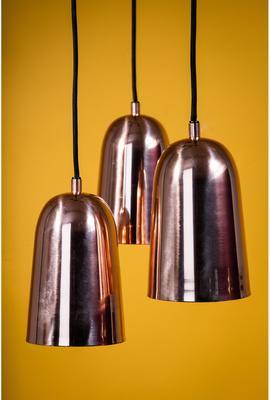 Bloomingville Shiny Copper Pendant Lamp image 3