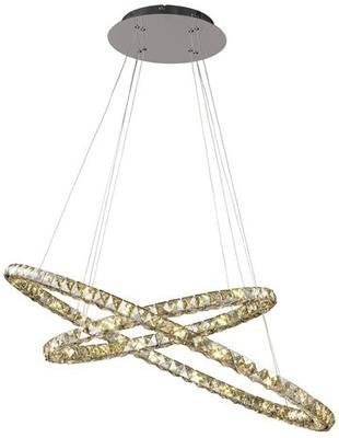 Double Circle Sparkle Pendant Lamp image 2