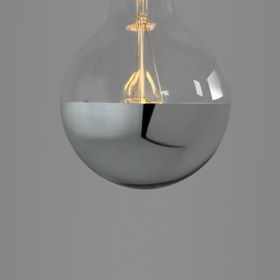 Nostalgia Lights Super Globe LED. Silver Cap