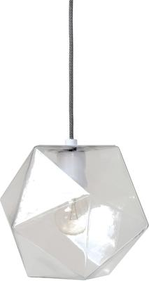 Geometric Hanging Lamp Clear Glass image 3