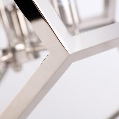 Geometric Hanging Lamp Clear Glass image 9