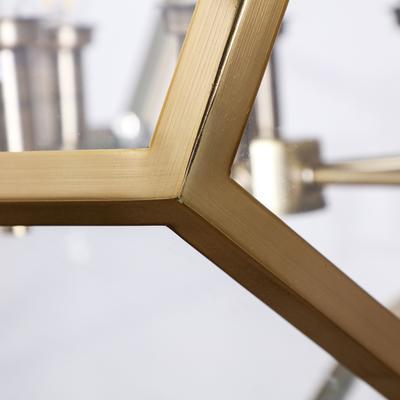 Geometric Hanging Lamp Clear Glass image 14