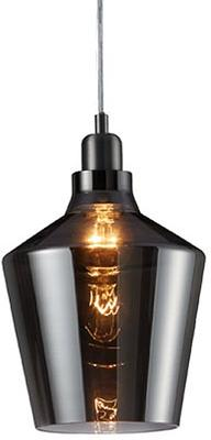 Calais Smoked Glass Pendant Light