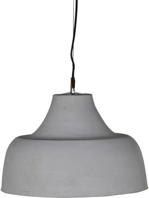 Cement Contemporary Hanging Lamp