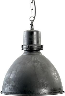 Industrial Factory Ceiling Lamp Black Matt