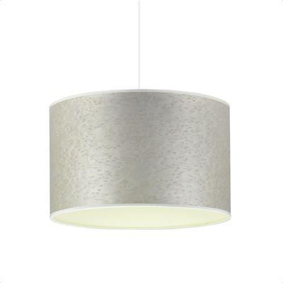 Pearl grey cream drum shade