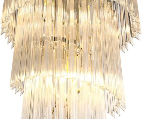Multi-tier Crystal Large Chandelier image 2