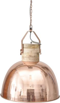 Merle Large Copper Dome Ceiling Pendant