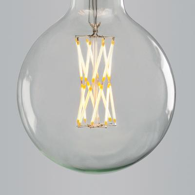 Nostalgia Lights Super Globe Twisted Led Filament