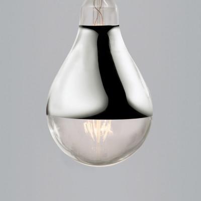 Nostalgia Lights Large Edison Spotlight Led Silver