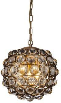 Colbert Crystal Globe Pendant Lamp Small