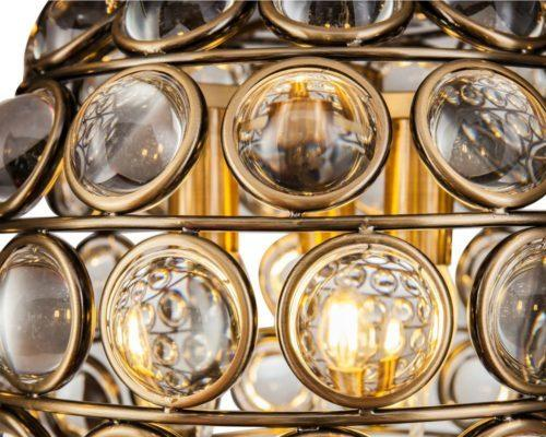 Colbert Crystal Globe Pendant Lamp Small image 4