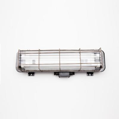 CAGED INDUSTRIAL STRIP LIGHT – 2FT BLACK image 3