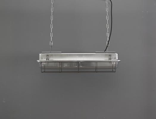 CAGED INDUSTRIAL STRIP LIGHT – 2FT GALVANISED image 2