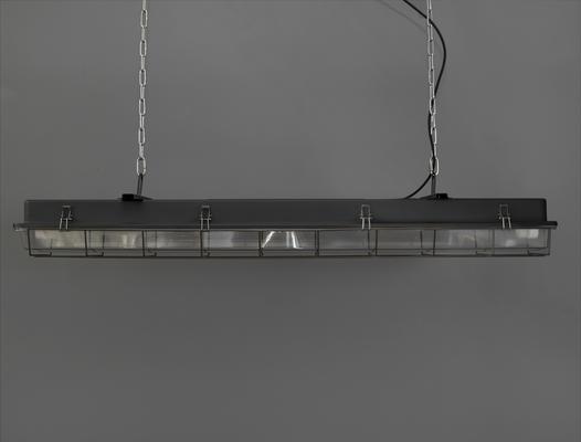 CAGED INDUSTRIAL STRIP LIGHT – 4FT BLACK image 2