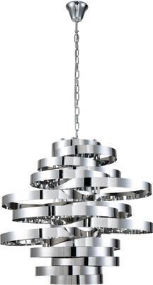 Volcano Ribbon Pendant Lamp in Gold or Steel image 3