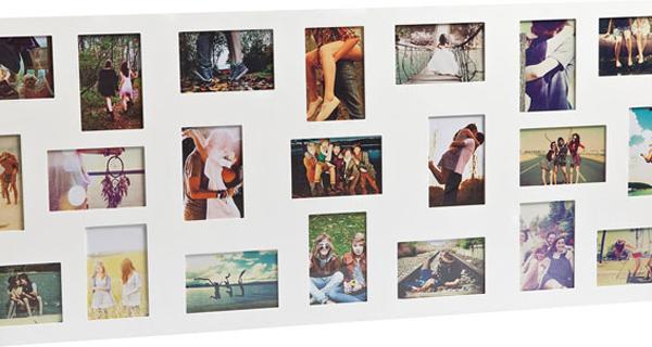 Flat Face 21 Multi Photo Frame [D] image 2