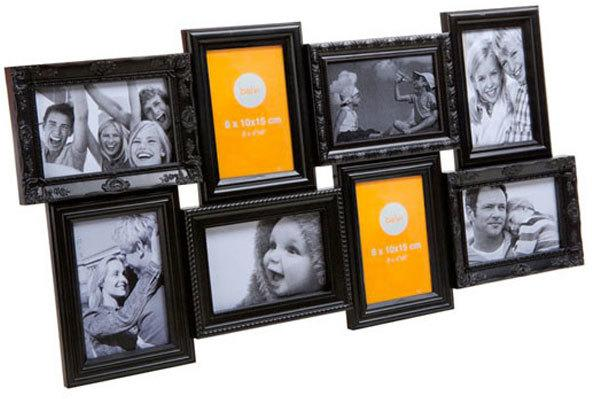 Black Magic 8 Multi Photo Frame