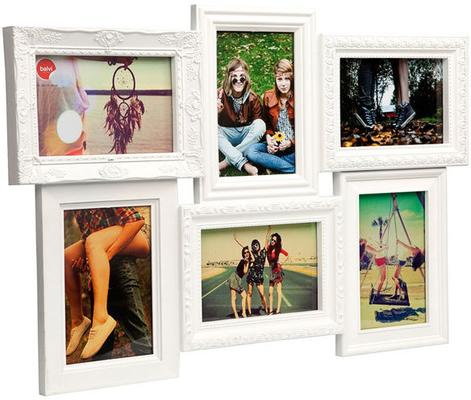 Magic 6 Multi Photo Frame (White)