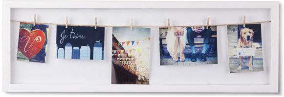 Umbra Clothesline Flip Photo Display Photo Frames
