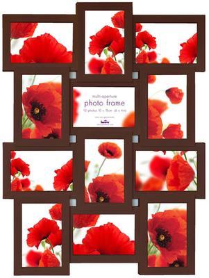 Maggiore IX Multi Photo Frame - Espresso